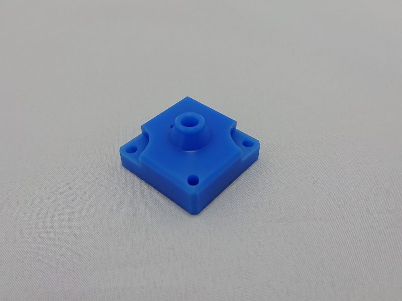 樹脂 複合旋盤加工 角物加工スペック  ~□140(チャッキング)<br /> □10~□45(バーフィーダー使用)