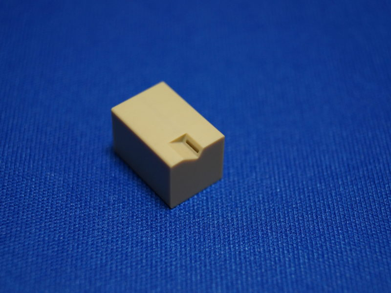 樹脂 マシニング加工 角物加工スペック 最小: