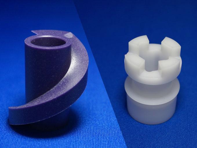 樹脂 複合旋盤加工