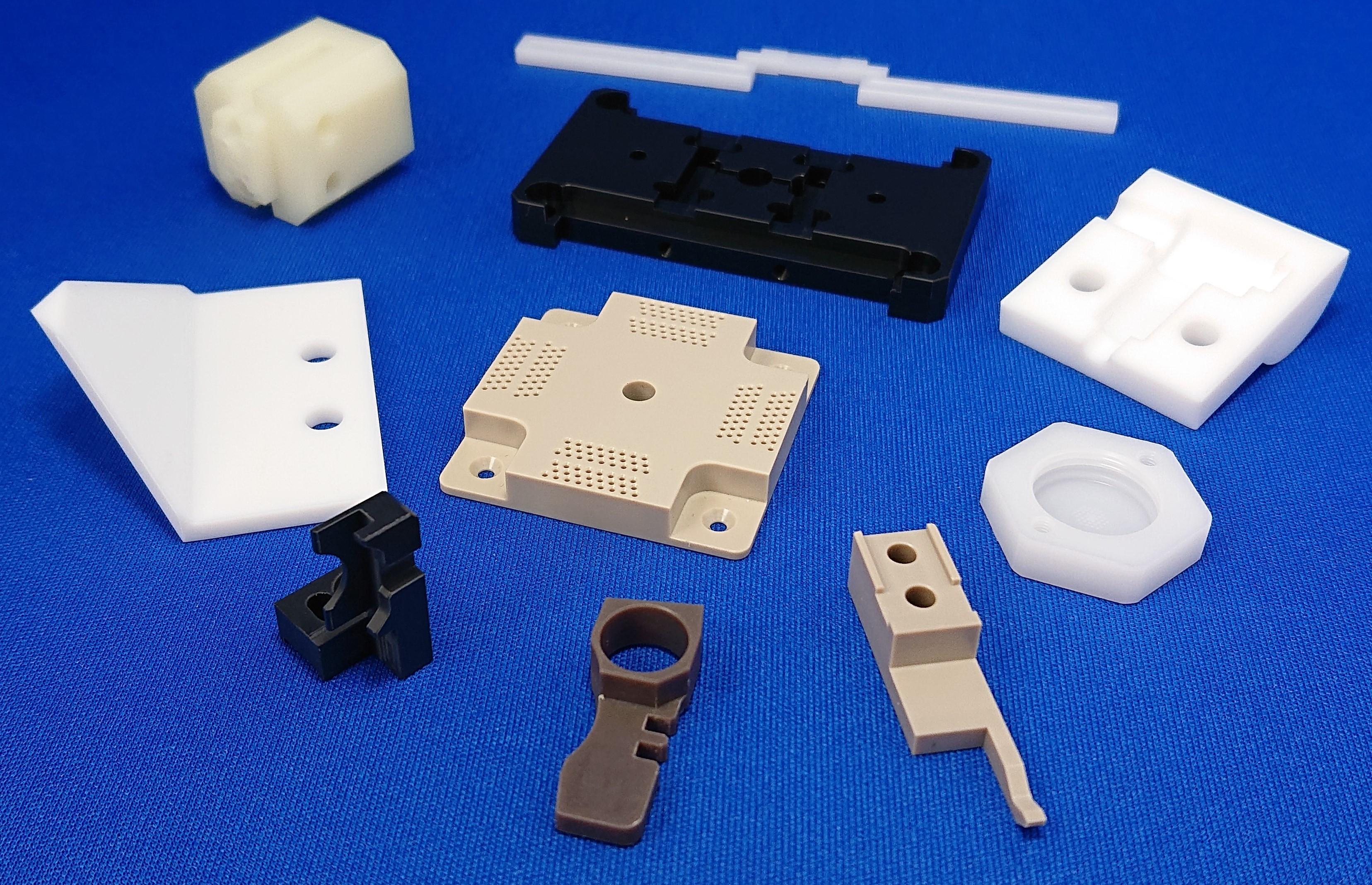 樹脂 (プラスチック) 精密切削加工