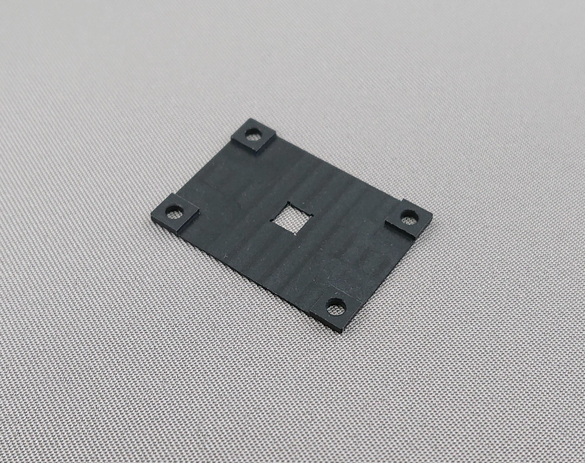 導電性MCナイロン精密加工 キャビティ